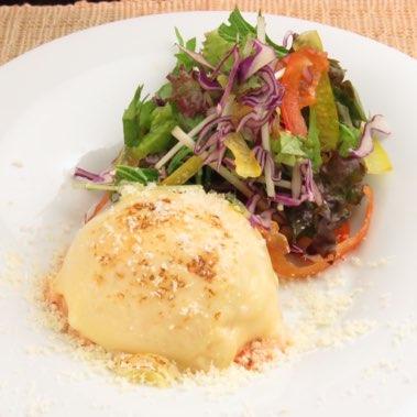 チーズ明太ポテトサラダ