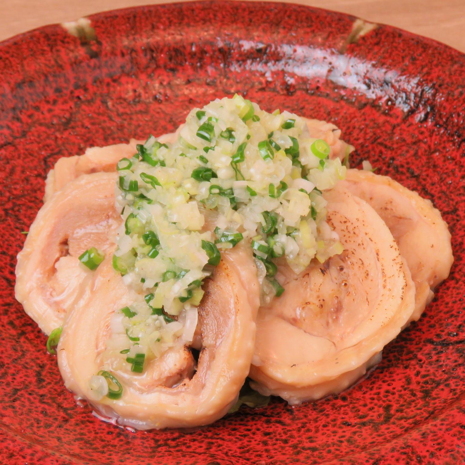 博多地鶏の塩チャーシュー