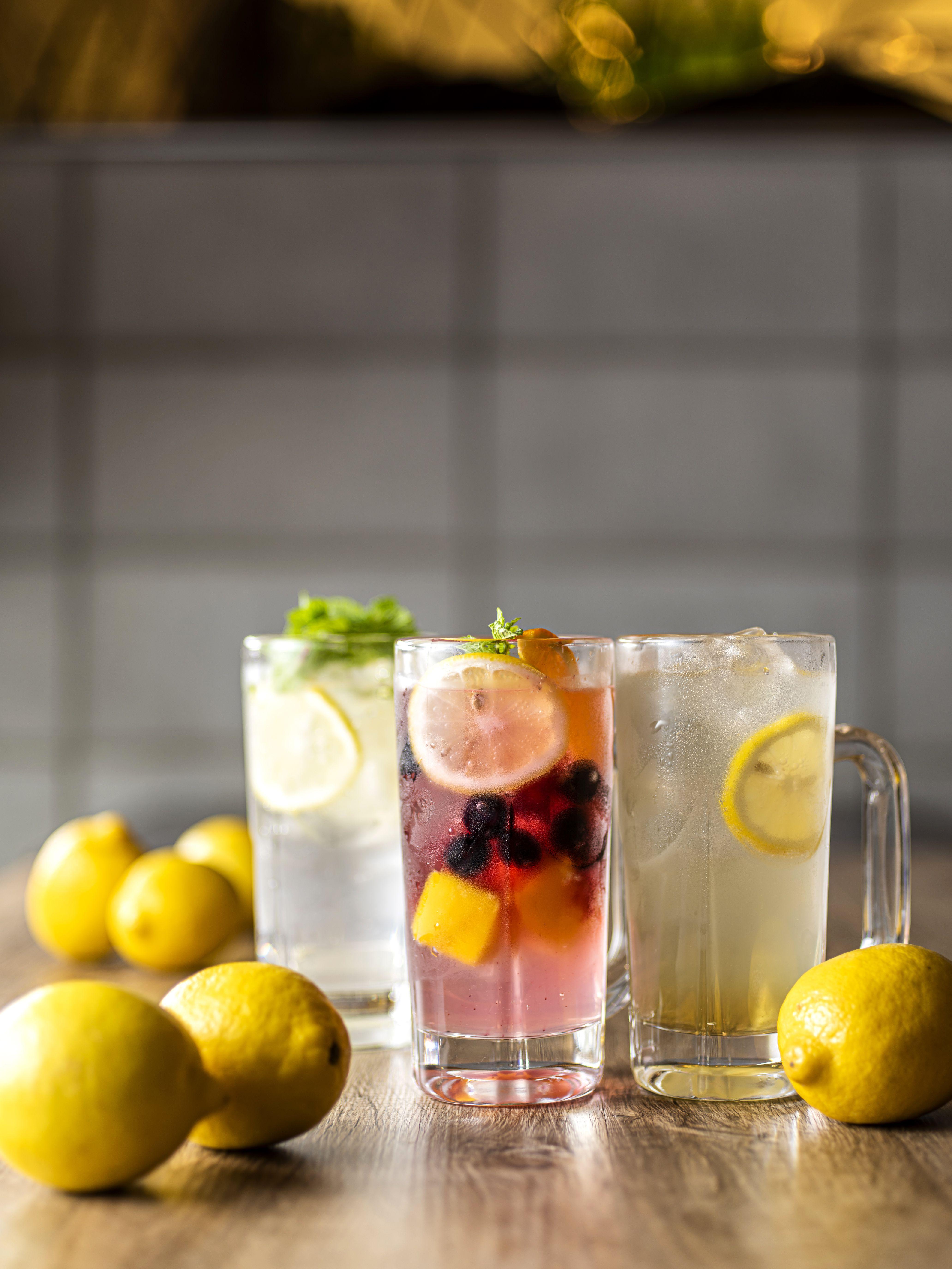 フルーツレモンサワー・自家製はちみつレモンサワー・モヒートレモンサワー